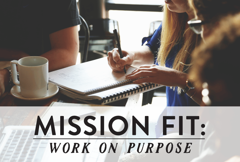 Mission fit: work on purpose, girl working collaboratively with peers